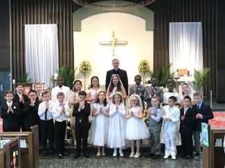 First Eucharist 2019