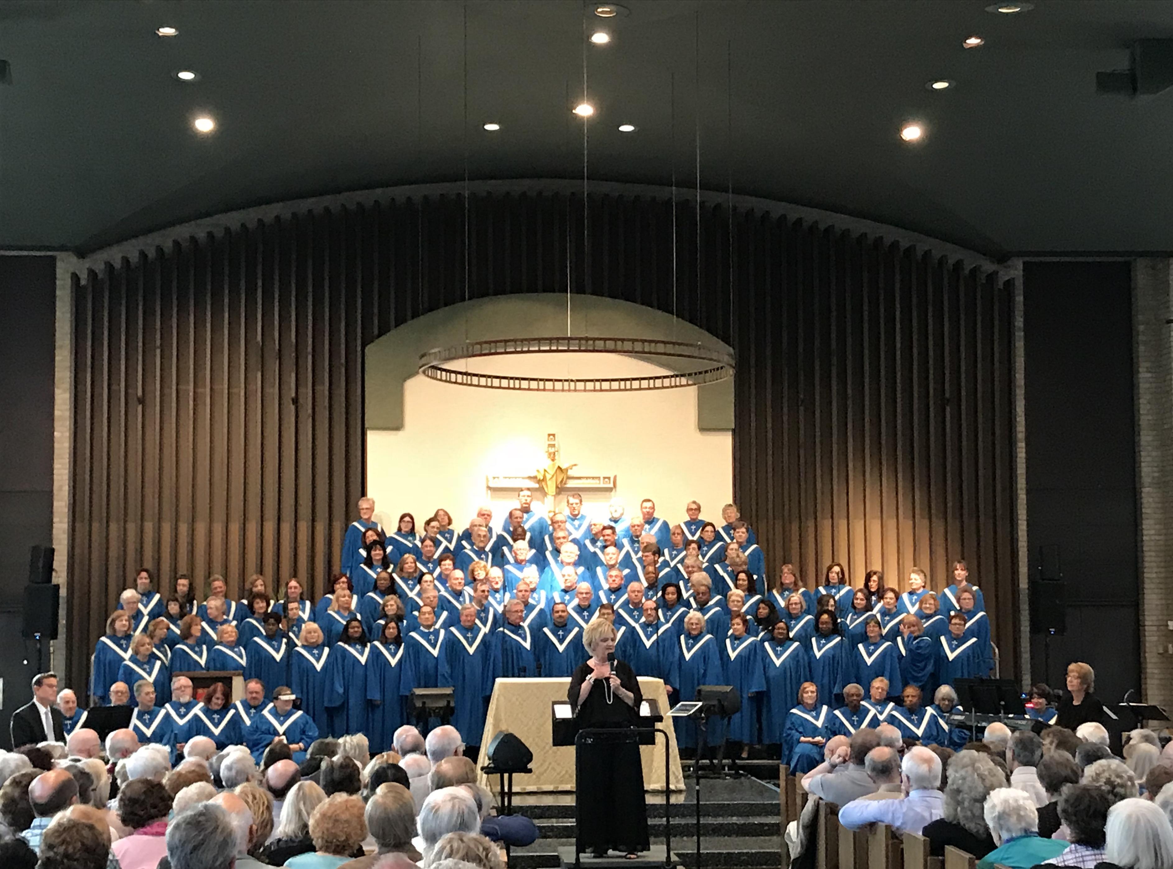 National Christian Choir at St Ann Church on Sunday, April 22