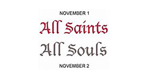 All Saints/All Souls