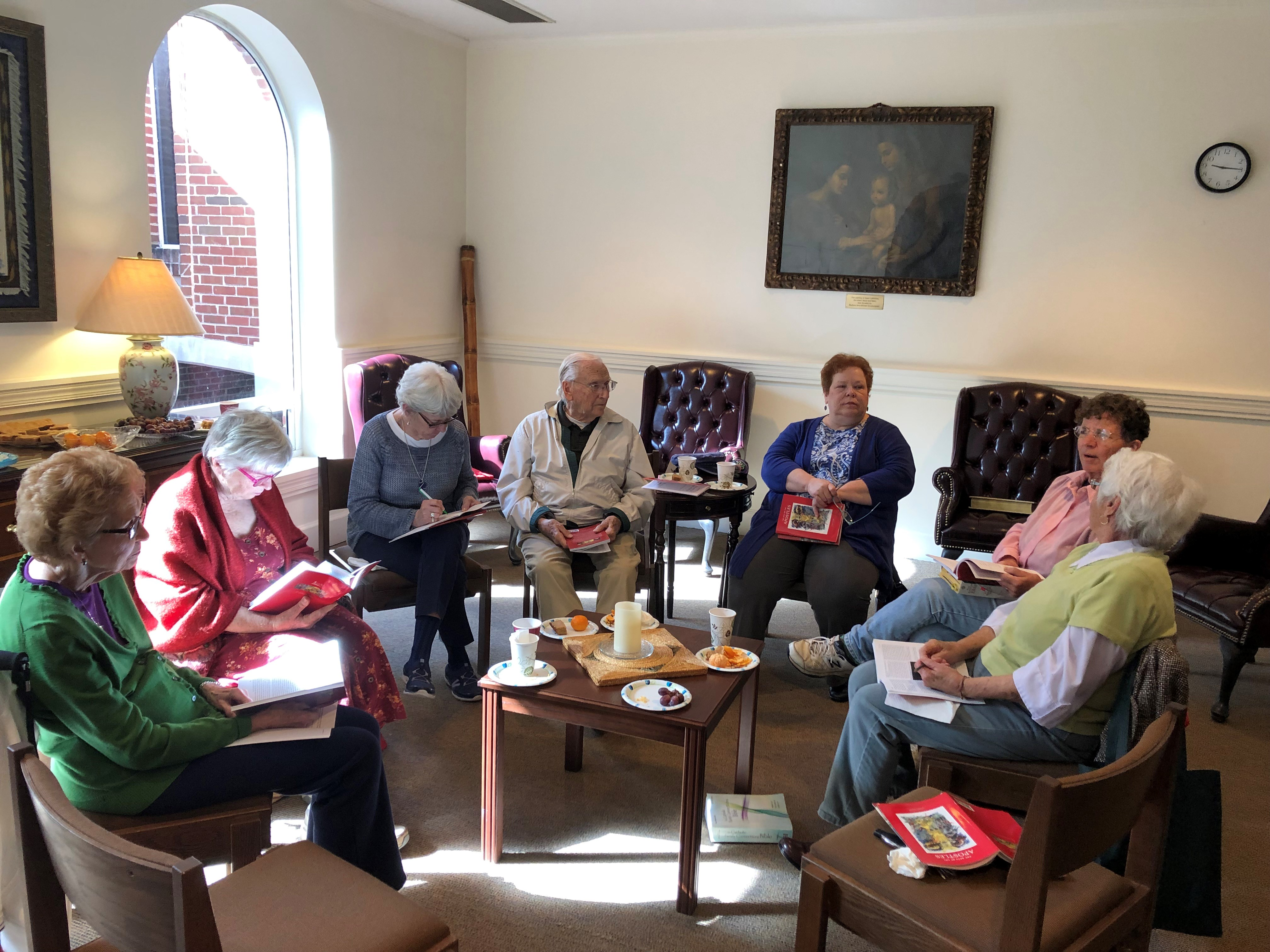 Small Faith Sharing Group Gathering and Potluck after the 5:00 pm Mass on Sat., Nov 23