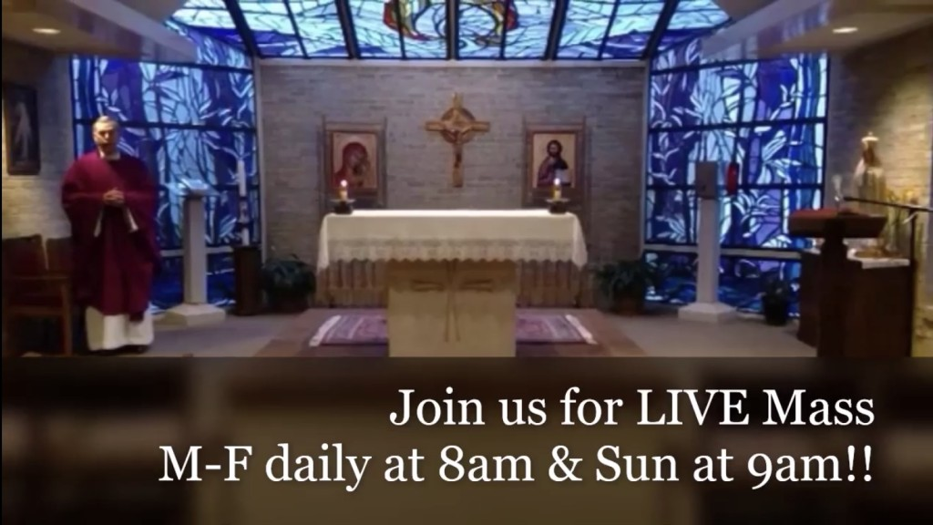Mass for Sunday, March 29
