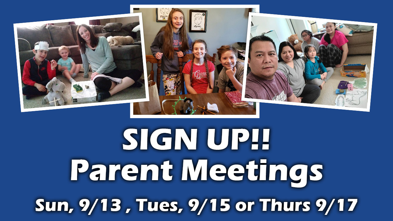 Family Formation Parent Meeting registration