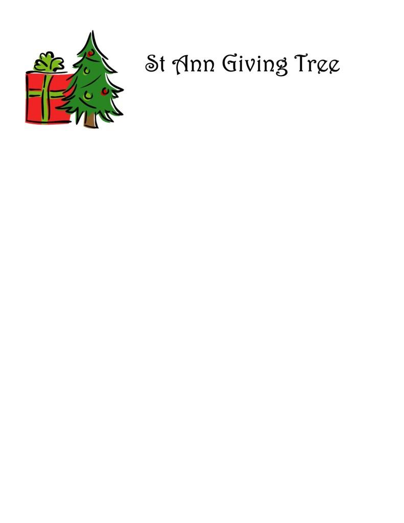 St Ann Giving Tree