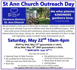 Outreach Volunteer Ad