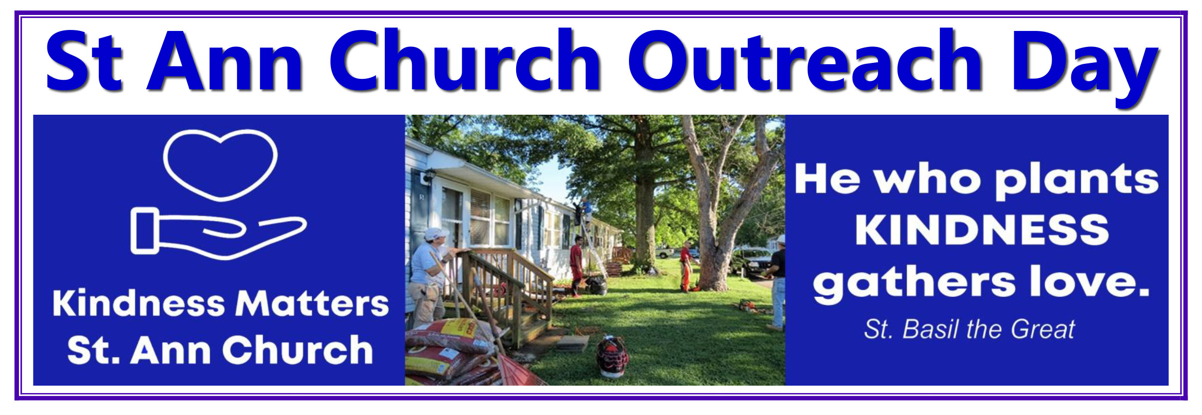 Volunteers Needed for Outreach Day - May 22, 2021