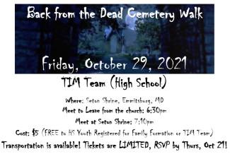 TIM Team BFTD Walk 10-29-21